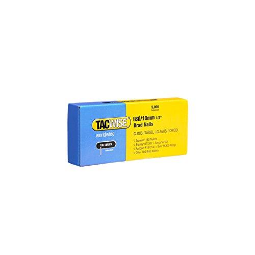 Tacwise 0392 18G/ 10mm nagels (doos van 5000)