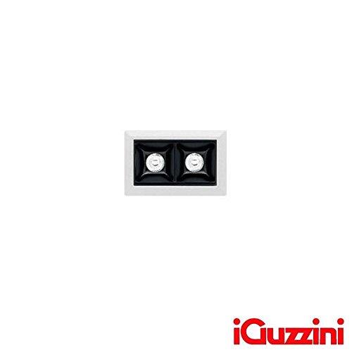 iGuzzini MK48 Laser Blade Eingebaut LED 4.2W 3000K 315lm Weiß