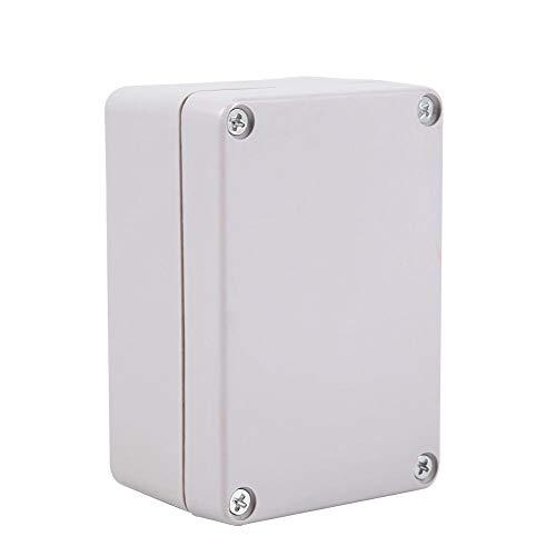 Kunststoffgehäuse, IP66 ABS Plastik Elektronische Gehäuse Box, Anschlußdose Wasserdicht, Schaltschränke Stromverteilung Zählerkasten, Leergehäuse Kunststoff(100x68x50mm)
