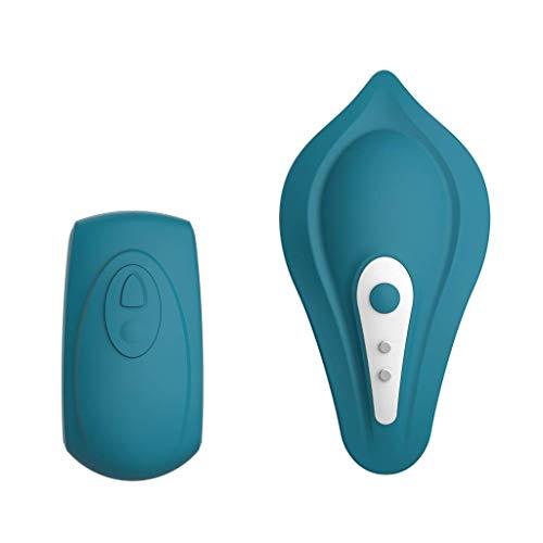 Cala: El nuevo vibrador de braguita con control remoto para estimulación externa estés donde estés de Platanomelón (Azul)