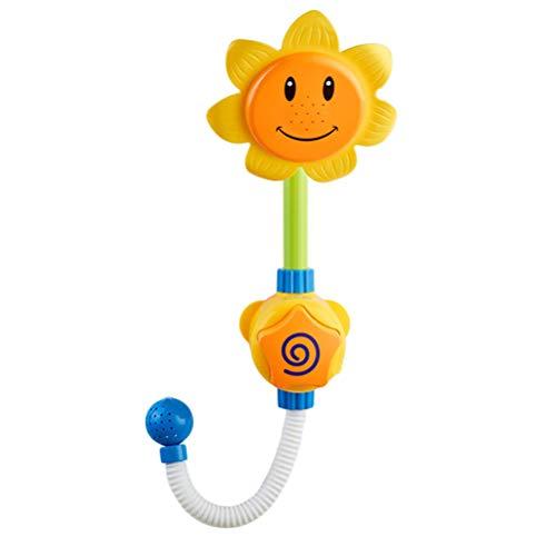 Schimer zonnebloem douche speelgoed water badkuip baby bad spray badkuip fontein badkuip kinderspeelgoed gereedschap voor kinderen