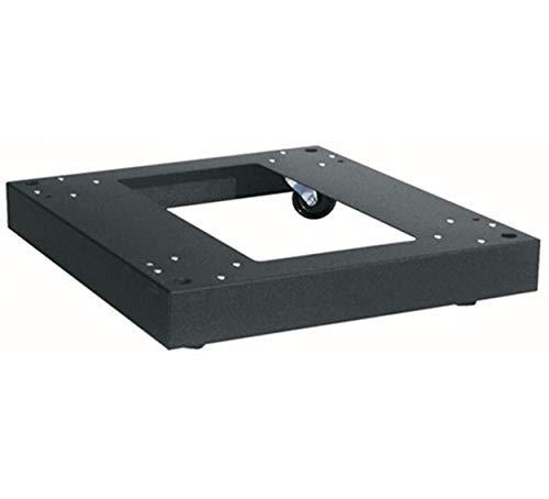 Middle Atlantic Products CBS-5-26 Castor Platform Rack Accessoires (Platform, zwart, staal, 181,44 kg, rond, 660 mm)