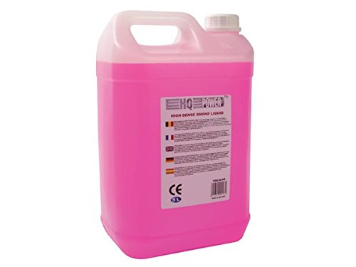 HQ Power High-density smoke liquid 5L Rosa, Blanco - Máquina de humo