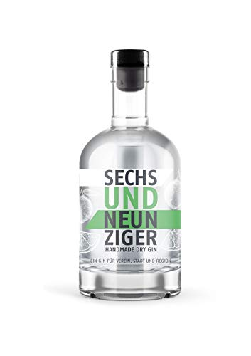 Sechsundneunziger Gin - Handmade Dry Gin - Hannover Gin (1 x 0,5l)