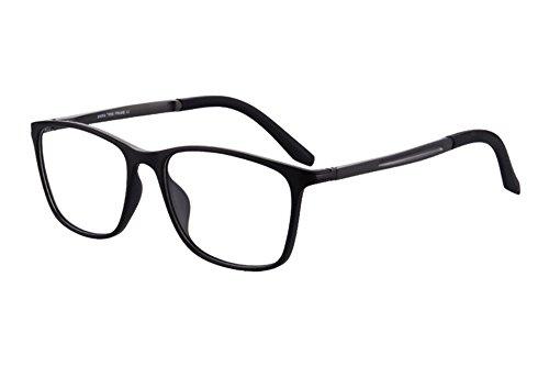 SHINU TR90 Progressive Multifokus Lesebrille Multiple Focus Eyewear Multifokale Lesebrille-SH031 (black, gun-up+0.50, down+2.00)