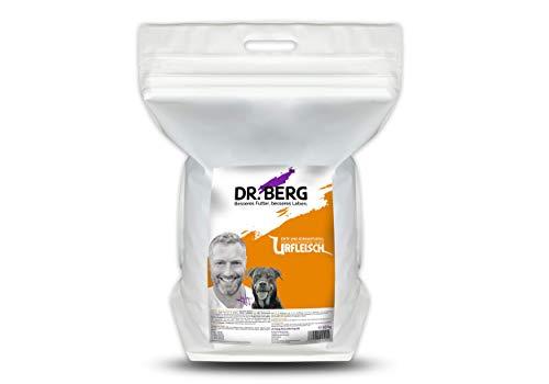 Dr. Berg URFLEISCH Ente & Süßkartoffel - Getreidefreies, hypoallergenes Hundefutter - Trockenfutter mit viel FRISCHFLEISCH - extra verträglich und lecker durch natürliche Zutaten (10 kg)