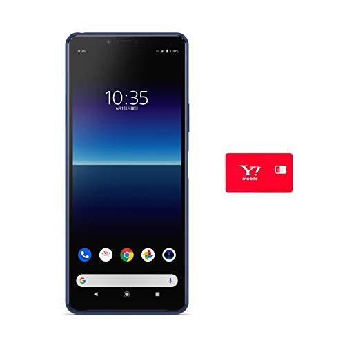 【ワイモバイル・プランMR専用】Y!mobile SONY Xperia 10 II ブルー ※回線契約後発送 SOWAP4