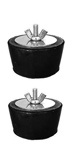 2x Well2Wellness ® Acero inoxidable tapón de invierno para piscina Boquillas de 1,5–2,0pulgadas/38–51mm