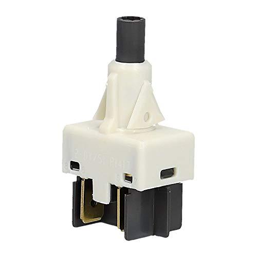 Tastenschalter 1-fach Spülmaschine Bauknecht Whirlpool 481227618505