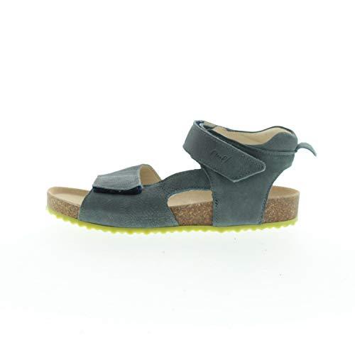EMEL Schuhe für Mädchen Sandalen Grau Blau E25096 (Numeric_30)