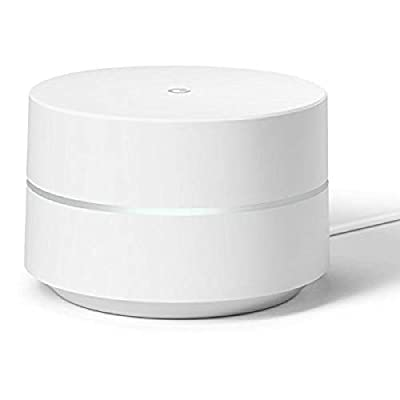 Google WiFi System Router Replacement for Whole Home Coverage (NLS-1304-25),White