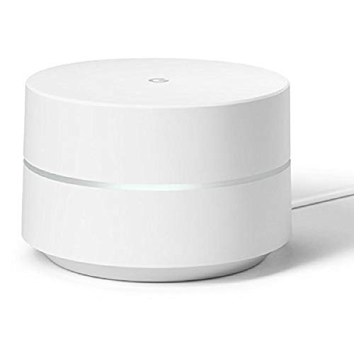 Price comparison product image Google WiFi System,  1-Pack - Router Replacement for Whole Home Coverage - NLS-1304-25, white