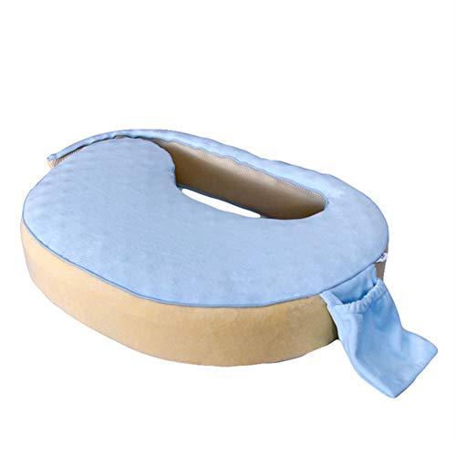 Baby GOUO@ Coussin d'allaitement Allaitement Oreiller Taille Confinement du Nouveau-né Anti-cracher du Lait Pad Cuddle The Support de câlin Horizontal
