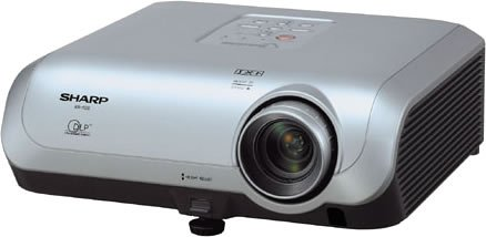 SHRXR10S - Sharp Electonics XR-10S Compact Multimedia DLP Projector with 2000 ANSI Lumens
