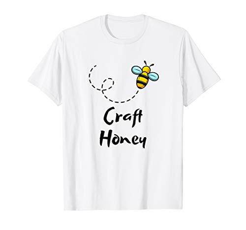 Craft Honey | Imker Tshirt | Honig Handwerk Imkerei
