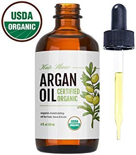 Moroccan Argan Oil, USDA Certified Organic, Virgin, 100% Pure, Cold Pressed by Kate Blanc. Stimulate...