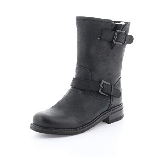 Blackstone Stiefel QL18 Größe 40 EU Schwarz (Schwarz)