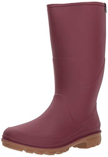 Kamik Women's Miranda Rain Boot, Burgundy, 9 Medium US