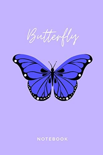 Butterfly Notebook: Cute Lined Journal