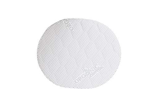 INGVART - Colchón infantil relleno de fibra de coco para INGVART Smart Bed 9in1 - Cuna de bebé evolutiva 65 x 76/125, 173 cm (mini ovalado 60 x 71 cm, fibra de cococo)