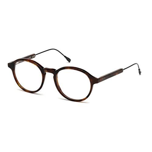 Tod's Unisex-Erwachsene TO5176 Sonnenbrille, Braun (Avelana), 49.0