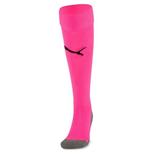 PUMA Team LIGA Socks CORE Calcetines Futbol, Hombre, Fluo Pink, 4