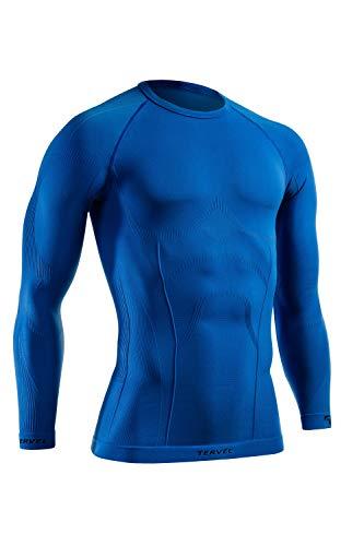 Tervel Comfortline Hommes Chemise Manches Longues Bleu Taille M