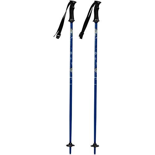 TecnoPro Skistöcke Skitty Junior (Farbe / Größe: 545 blau - 85cm)
