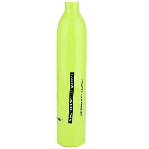 Sorand Tanque De Oxígeno para Buceo, 0.5L Mini Cilindro De Oxígeno para Buceo Buceo Botella De Oxígeno Accesorios para Equipos De Buceo 85 litros