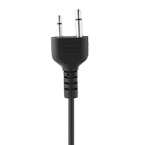 Surebuy Casco de Moto Auriculares Bluetooth Antirradiación, con Micrófono