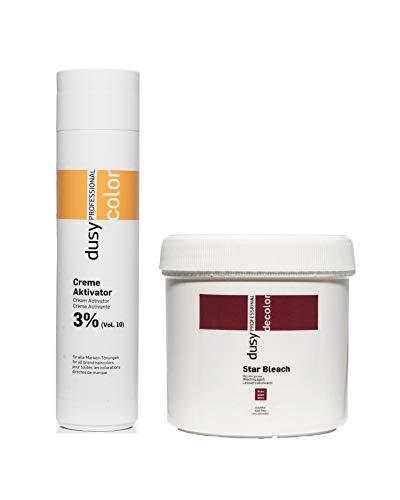 Dusy Professional Creme Oxyd 250ml 3% + Dusy Star Bleach Blondierpulver 100g
