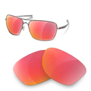 sunglasses restorer Cristales Polarizados de Recambio Ruby Red para Oakley Plaintiff Squared