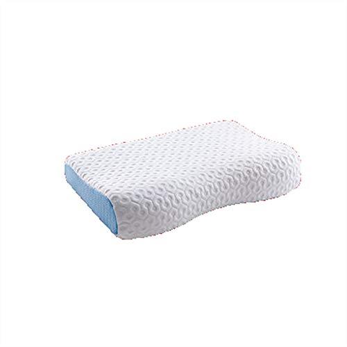 N /A Látex Almohada, Almohada de Memoria Gel, Gel refrescante Almohada for Dormir, Almohada Cervical for el Dolor de Cuello Cirugía Plástica-Reverso de estómago Durmiente, tamaño: 60cm x 40cm x 12cm