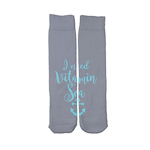 Generic Flip Con Vitamin Sea Per Ragazzo Compatibile Con Long Socks Tessuto Di Cotone