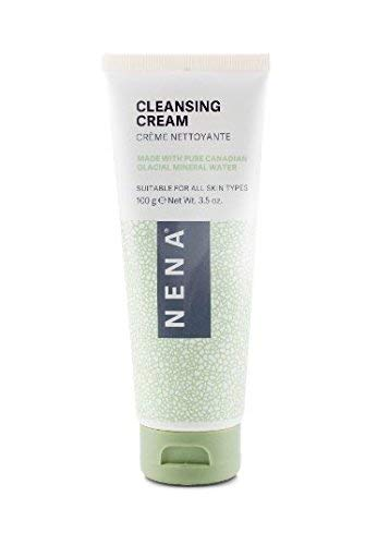 NENA Natural Face Wash for Dry Skin - Gentle Exfoliating & Anti Aging Facial Cleanser for Women with...