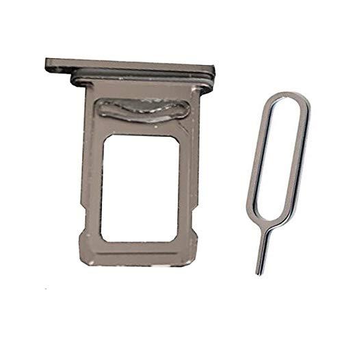 Draxlgon Dual Bandeja de Tarjeta Sim Ranura Compatible para iPhone 11 XI A2111 A2111 A2223 6.1inch Black