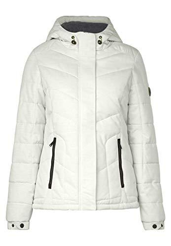 CECIL Damen 201370 Jacke, Weiß (off white melange 11111), X-Large (Herstellergröße:XL)