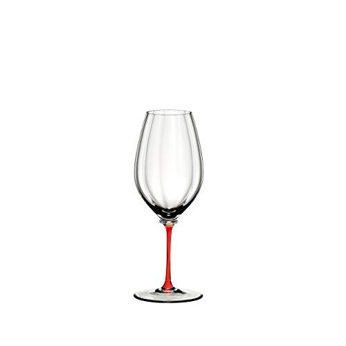 RIEDEL Fatto A Mano Performance 4884/15R - Copa de Vino (Cristal, 623 ml), Color Rojo