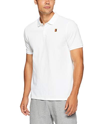 Nike Herren M NKCT HERITAGE Polo Shirt, weiß (white), L