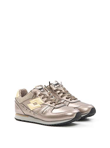 scarpe lotto japan donna Lotto Leggenda Sneakers Tokyo Shibuya Oro - Tokyo Shibuya W S5858 MT SES/Gld STR - Taglia 37