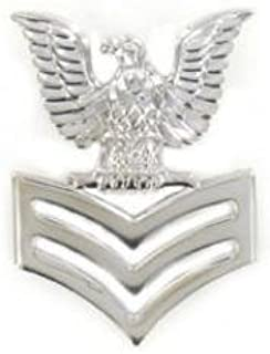 Navy E-6 Collar Device Rank Insignia