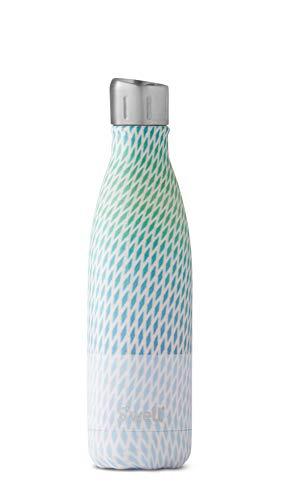 S'well Bouteille d'eau isotherme en acier inoxydable, 500 ml, stroboscopique