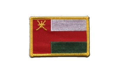 Aufnäher Patch Flagge Oman - 8 x 6 cm