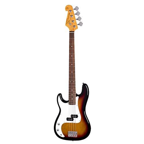 SX - Guitarra eléctrica (estilo de precisión en el quemador de sol, mano izquierda)