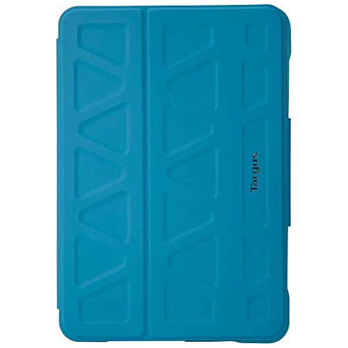 Targus 3D Protection Case for Apple iPad mini 4, 3, 2, 1 with Slim TriFold Stand Cover, Multi-Angle Viewing, Magnetic Sleep/Wake Closure, Blue (THZ59502GL)