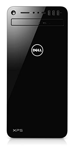 Dell XPS 8930 Gaming Desktop PC (Black) - (Intel Core i7-8700, 16 GB RAM, 256 SSD + 2 TB HDD, NVidia GTX1060 6 GB, Windows 10) (Renewed)