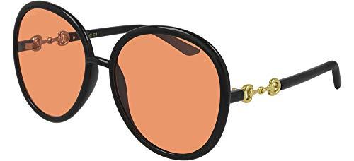 Gucci Gafas de Sol GG0889S Black/Orange 61/18/140 mujer