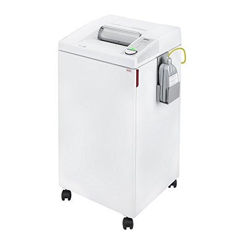 Ideal. 2604 Trituradora de función continua y corte cruzado para papel de oficina centralizado, grapas, clips de papel, CD, DVD, con aceite automático