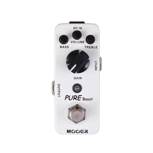 MOOER Pure Boost Pédale Booster 20 dB -...