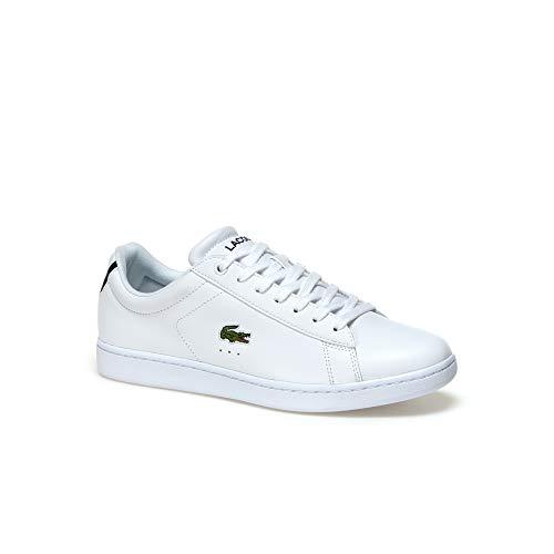 Lacoste Sport Carnaby EVO Bl 1 SPM, Zapatillas para Hombre, Blanco (White 733spm1002001), 42 EU